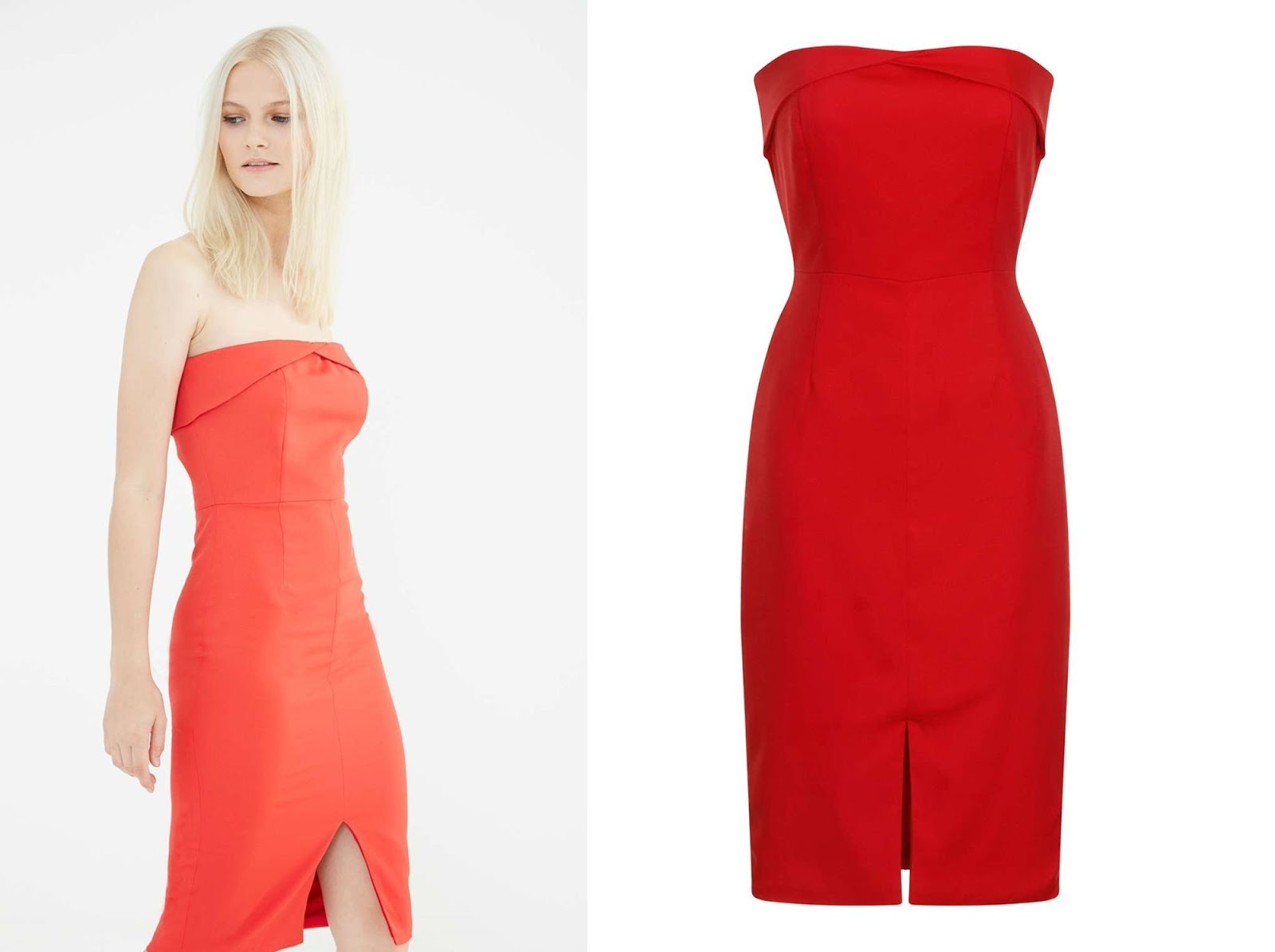 sukienki czerwone na wesele | studniowke 2016