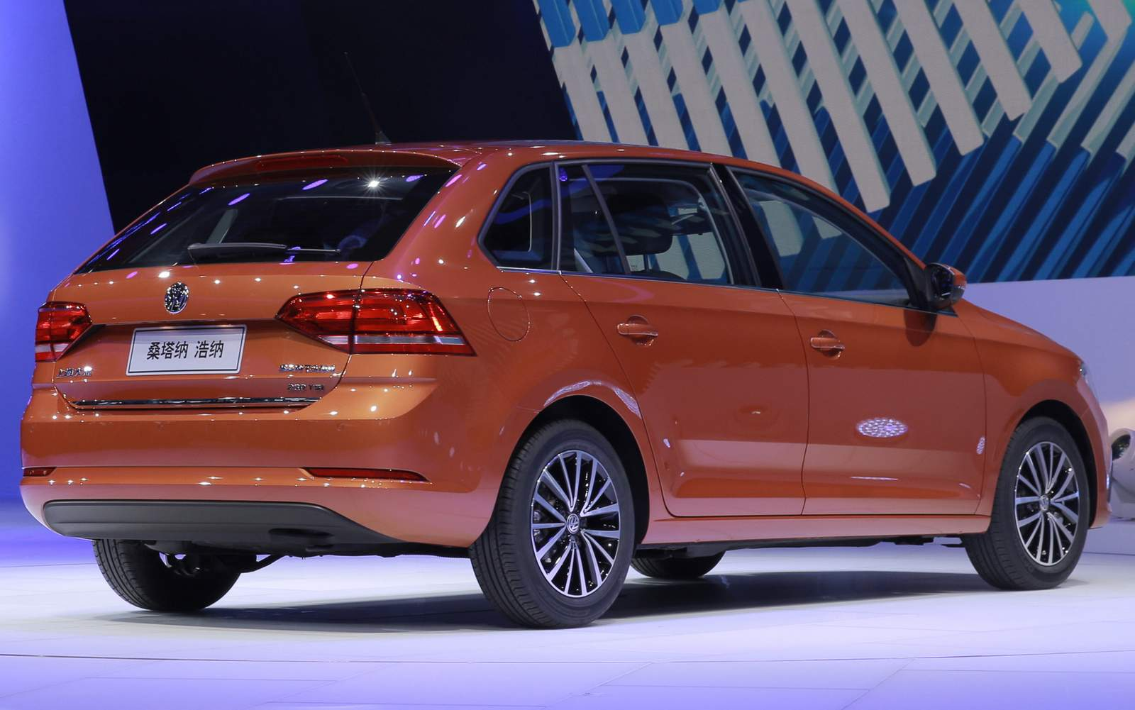 Novo VW Santana 2015 Hatch