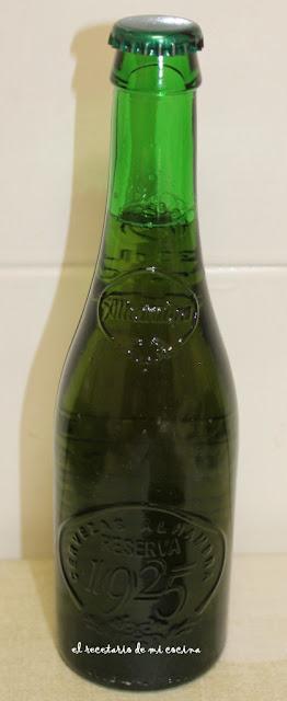 panecillos de centeno y cerveza alhambra