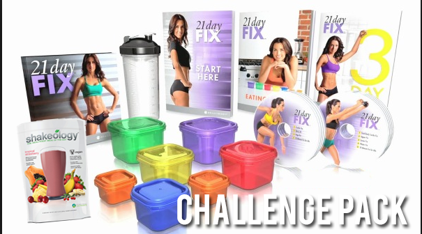 21 Day Fix Challenge Pack On Sale the month of September