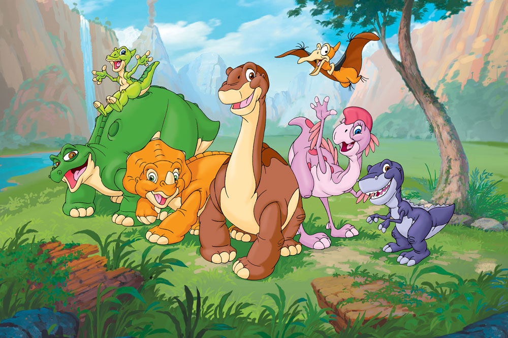 The Land Before Time Animated Adventure Cartoon