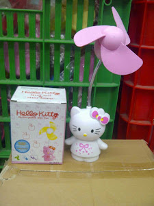 Mini Fan Hello Kitty