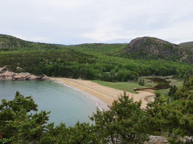 Sand Beach and The Beehive