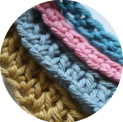 how to start a new row in crochet chain stitch