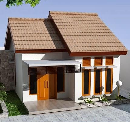 contoh rumah kecil nan sederhana
