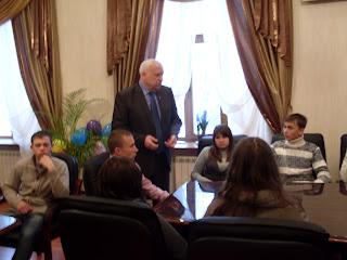 Екскурсія учнів 11-х класів ЗОШ №1 та №3 Врадіївського району до Миколаївського ДАУ.