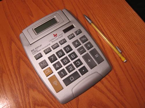 Children's cancer research fund pro bono calculator