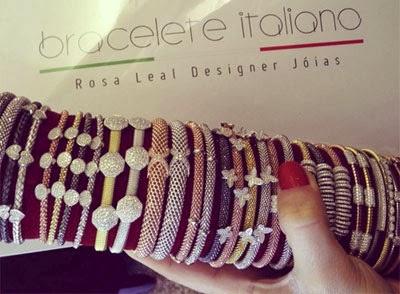 braceletes italianos by Rosa Leal