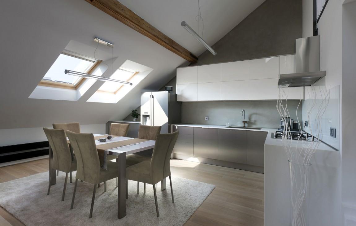 Soffitto Travi Legno Vista: Illuminazione led casa: lluminare a ...