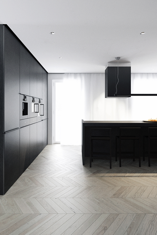 Apartment Warta Park by Project RA_ & EASST , kitchen, inspiration, interior design