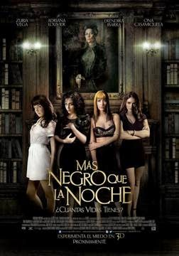 Mas Negro Que La Noche (2014) en Español Latino
