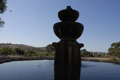 fountain at san luis rey mission