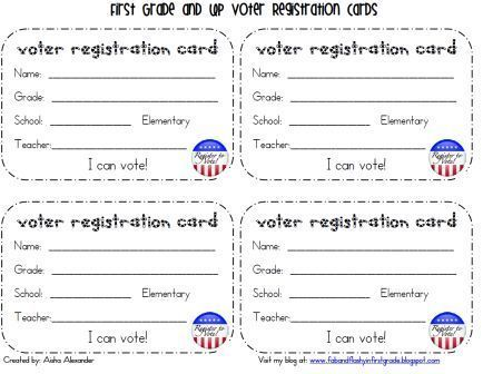 election 2012 for first grade | just b.CAUSE