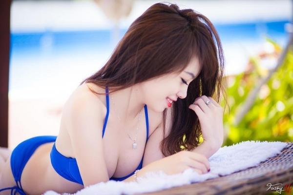 Ảnh gái đẹp HD Ngân Obe Mùa hè nóng bỏng