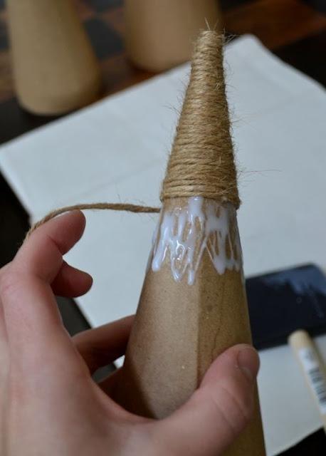 Inspiracje na świąteczne DIY ze sznurka