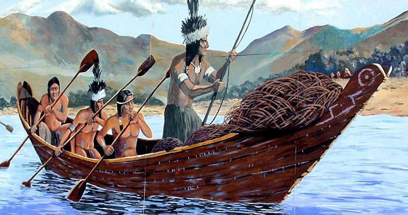 Indigenous Boats Tomol Construction