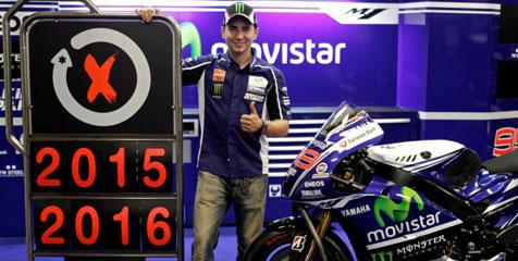 Jorge Lorenzo Resmi Bertahan Di Yamaha