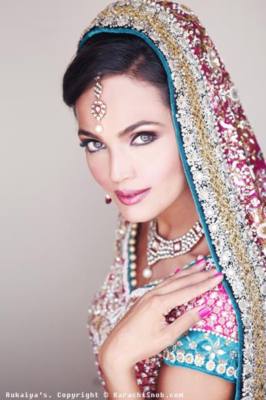 Pakistani bridal pakistan for Asma t salon lahore