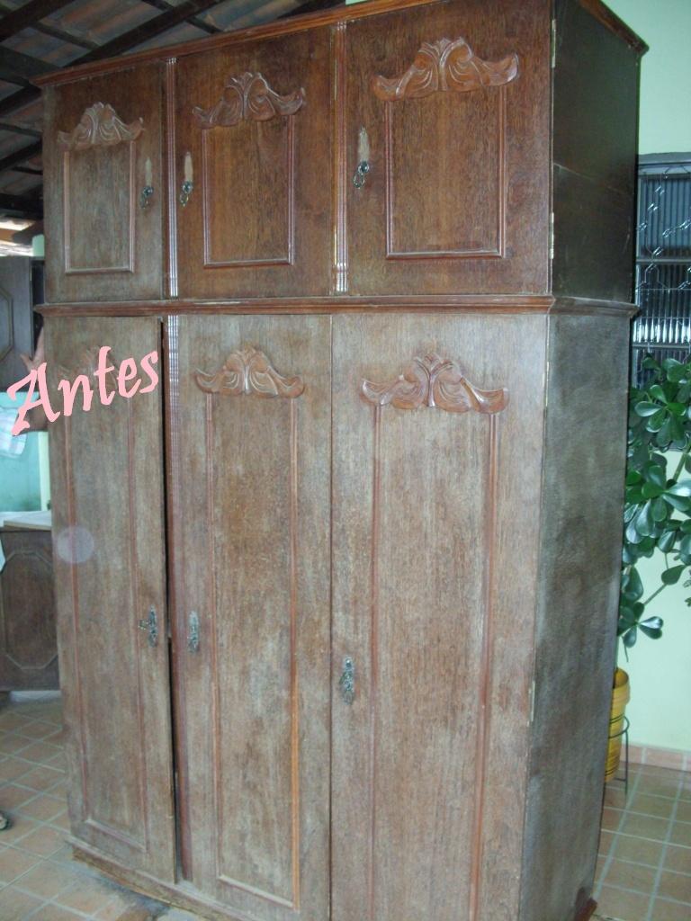 Restaurar Guarda Roupa Antigo : Maria joaquina como restaurar m?veis antigos em casa mesmo
