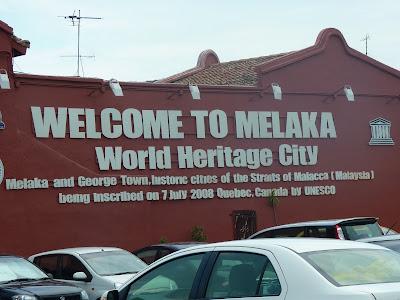 ciudad histórica de Malaca world heritage city Melaka