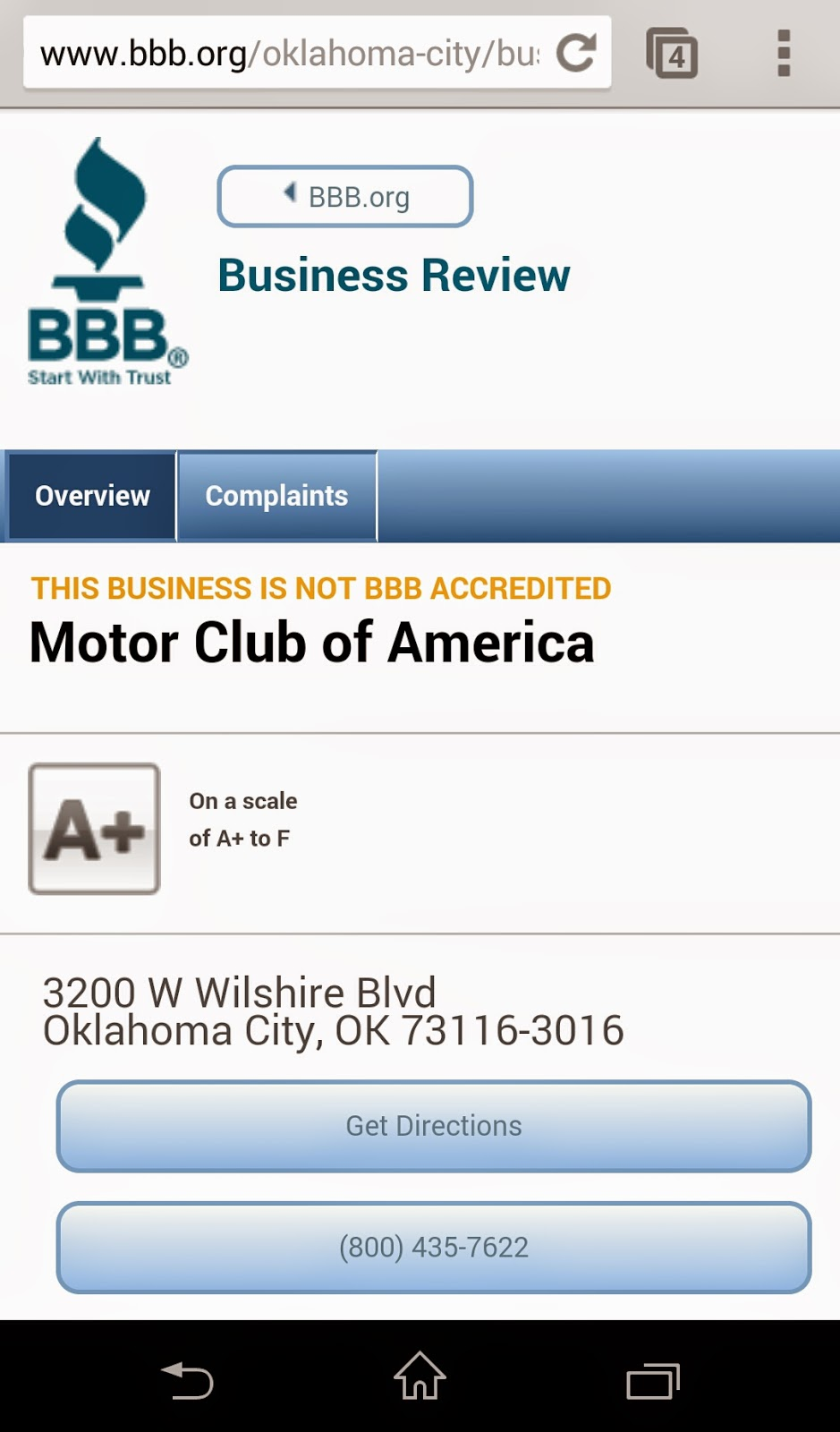 Motor club of america mca scam mca hidden agendas for Mca motor club of america scam