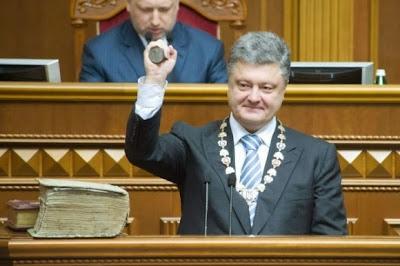First anniversary of Petro Poroshenko's Presidency