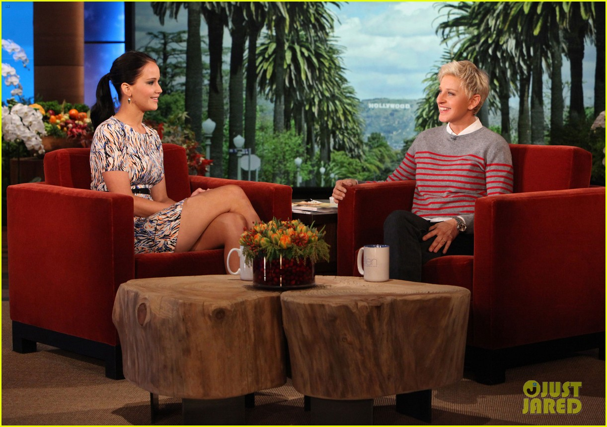 The hunger games france extrait de jennifer lawrence au ellen degeneres show - Ellen show videos ...