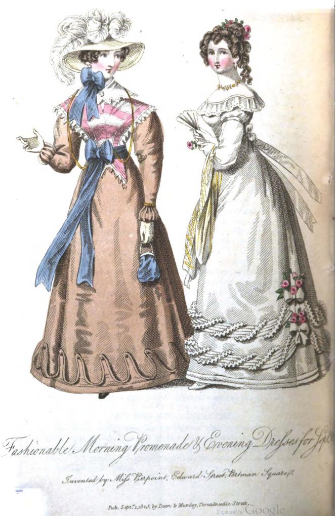 romantic era clothing romantic era fashion plate
