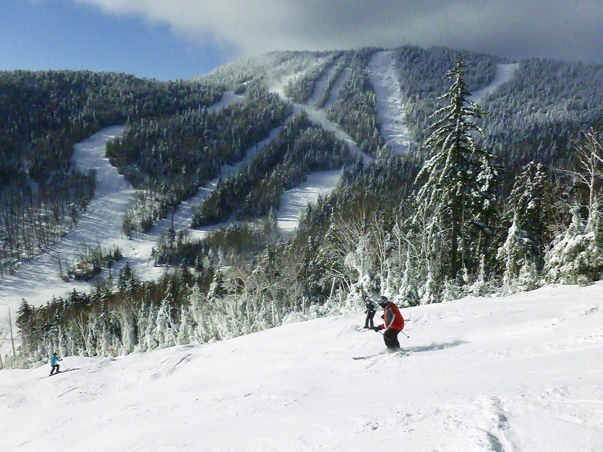 Skiing Uncas at Gore, Christmas Eve.  The Saratoga Skier and Hiker, first-hand  accounts of adventures in the Adirondacks and beyond, and Gore Mountain ski blog.