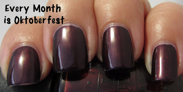 OPI Germany Every Month Is Oktoberfest