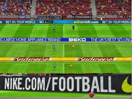 FA Cup Adboards untuk PES 2015