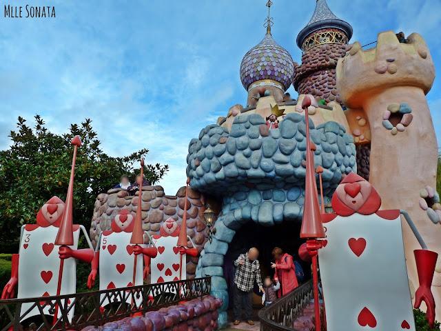 Château d'Alice aux pays des merveilles