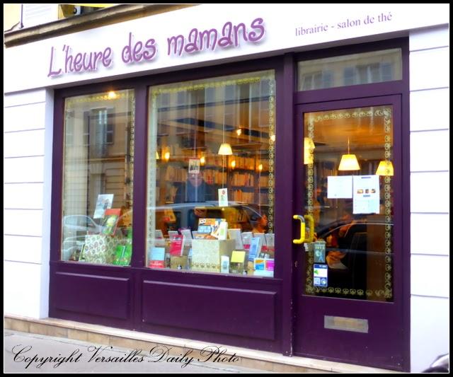 Versaillesdailyphoto blog librairie salon de th l 39 heure - Librairie salon de the ...