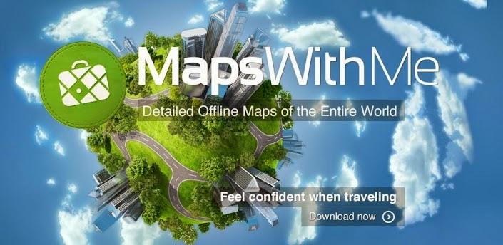 Maps With Me Pro, Offline Map v2.6.4 APK DOWNLOAD