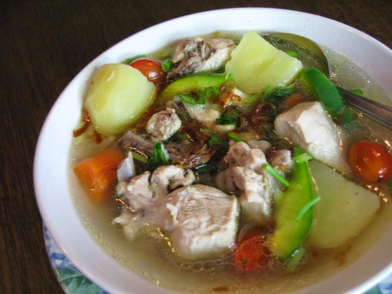 Sup Ayam Legakan Batuk