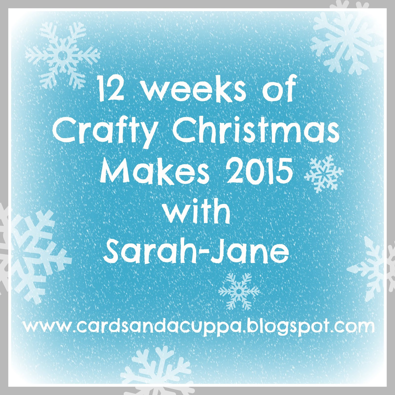 Twelve Weeks of Crafty Christmas Makes 2015