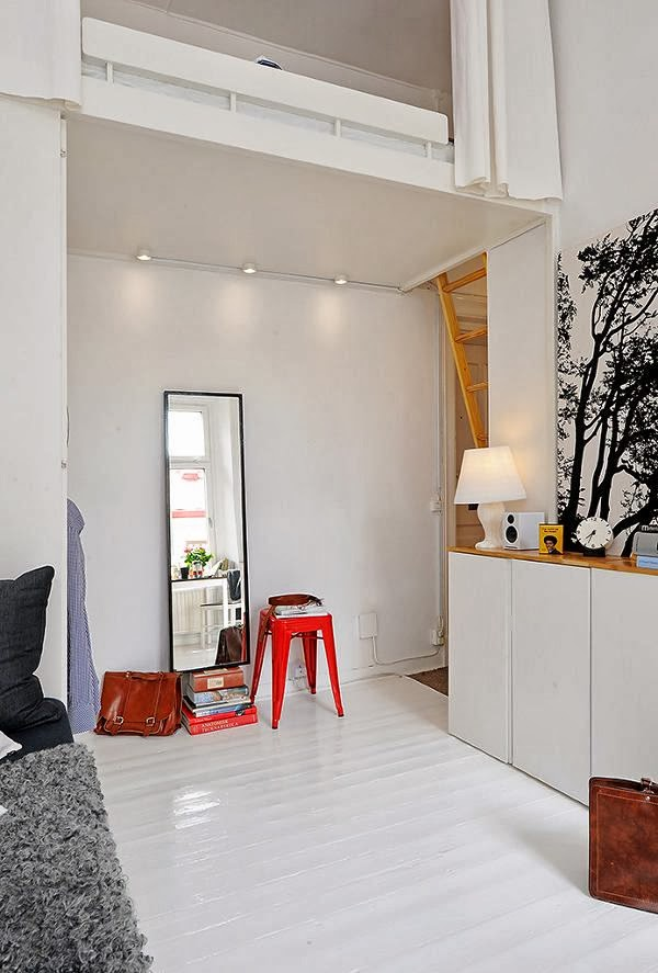 Small Apartment 17m2 How To Design A Micro Space Blog Wntrzarski