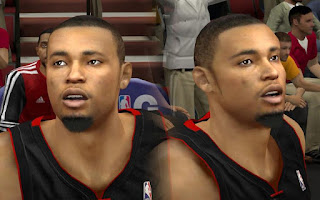 NBA 2K13 Rashard Lewis Cyber Face Patches