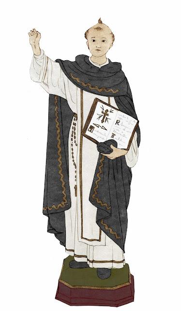 San Vicente, imagen, dibujo