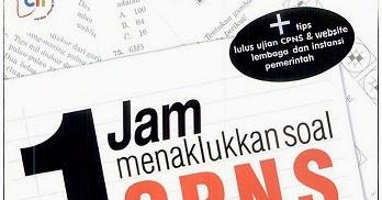 Download Ebook Buku 1 Jam Menakhlukan Soal Cpns