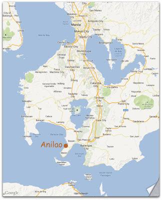 anilao distance from manila