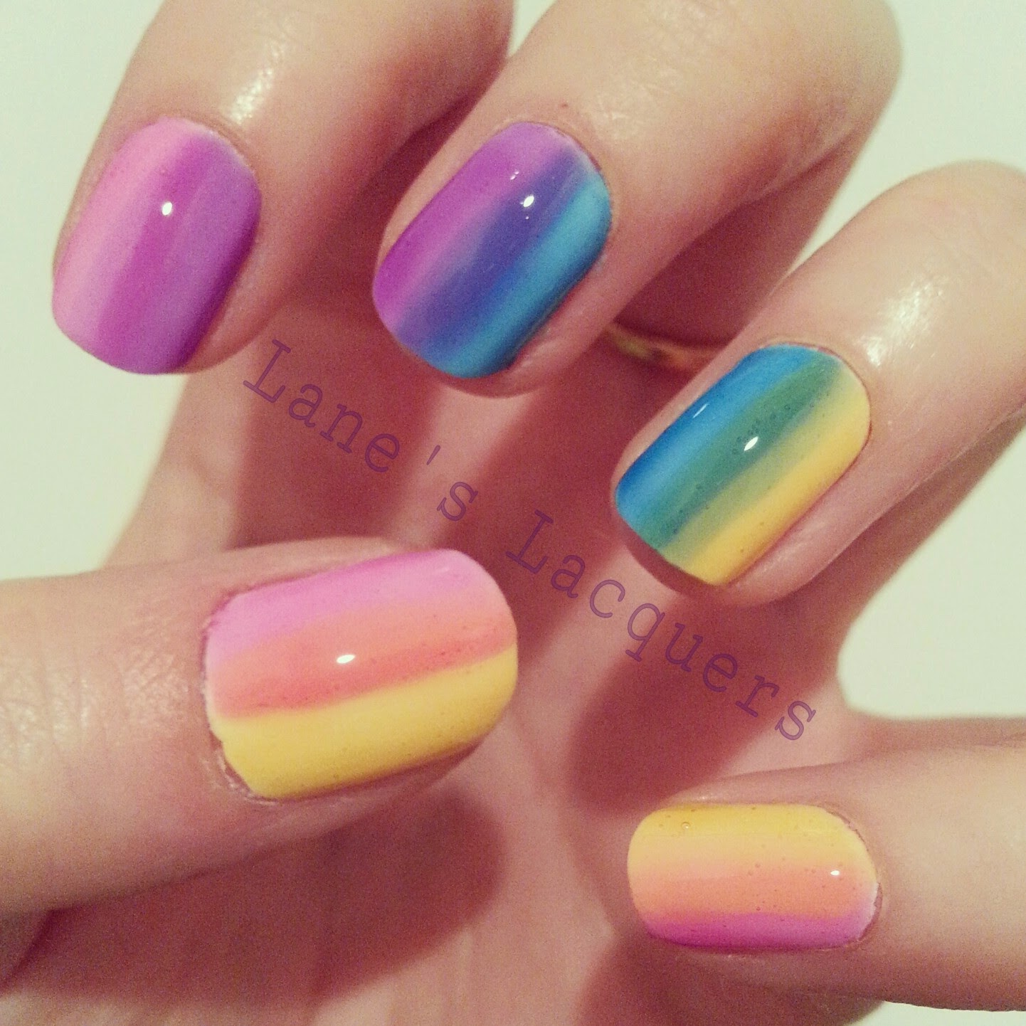 opi-sheer-tints-collection-rainbow-gradient-manicure