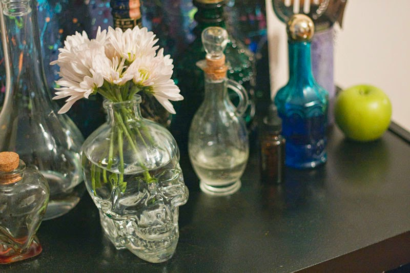 Potion Bottle Gypsy Bar Cart