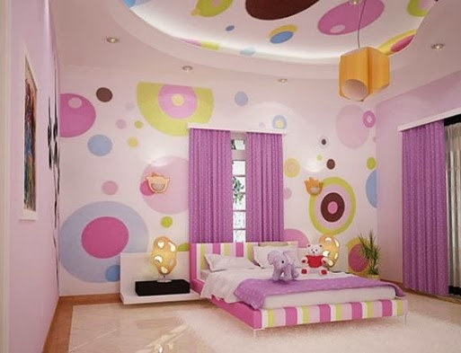 Desain kamar tidur untuk anak anak