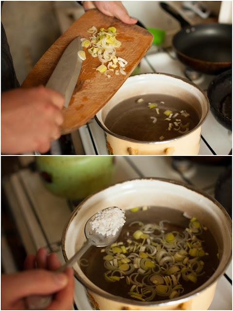 солим суп с писту