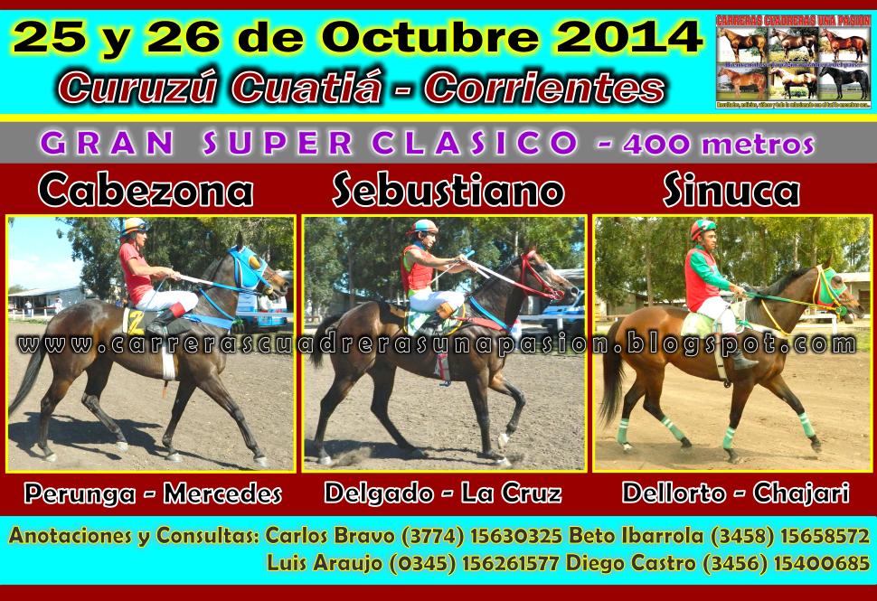 C. CUATIA - CLASICO 400 METROS