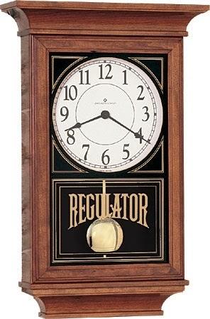 Made in the USA - Regulator Wall Clock