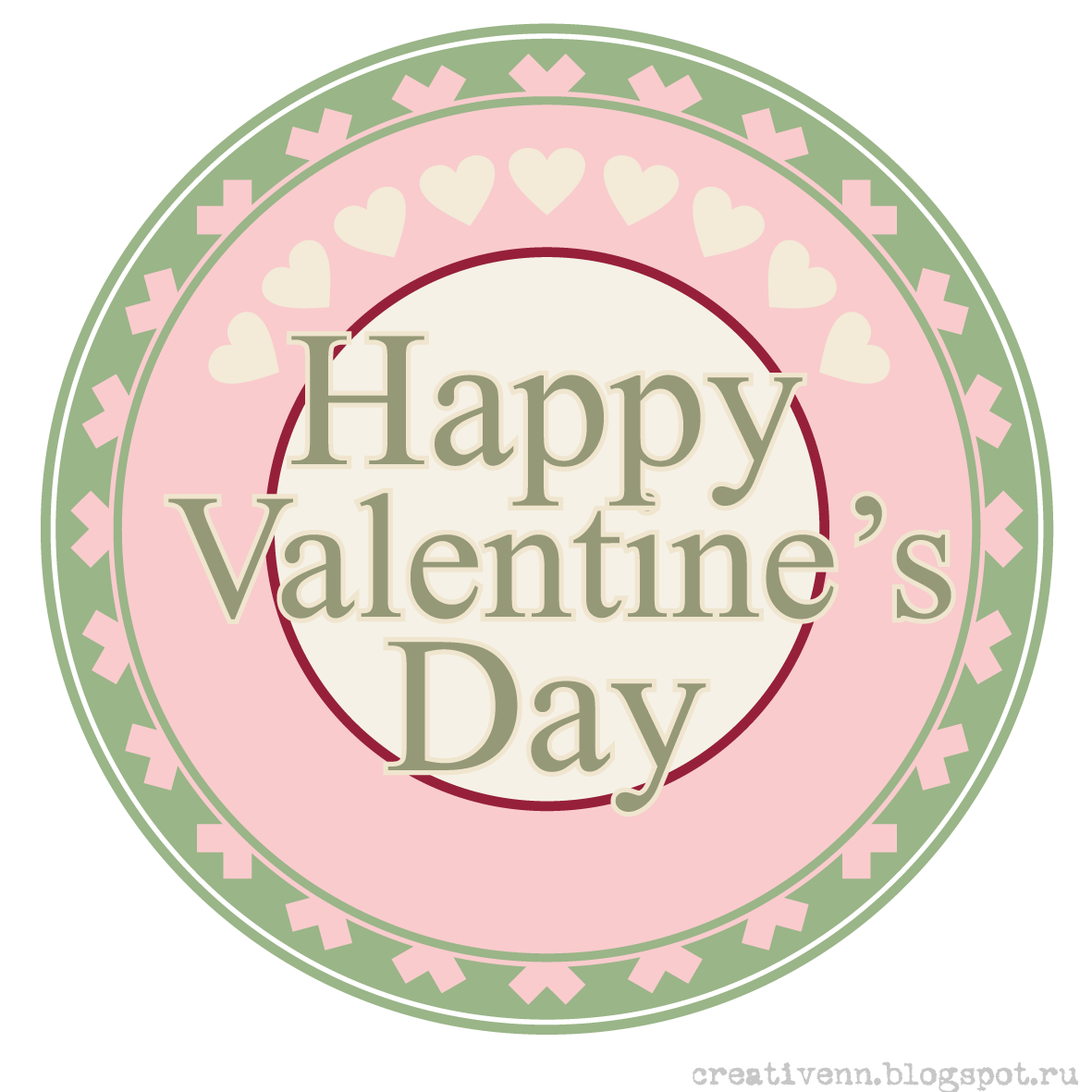 Happy Valentine's Day! Scrapbooking.