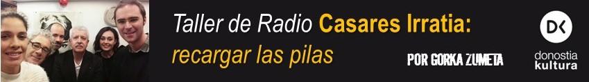 EXPERIENCIA DE RADIO DEL EDITOR