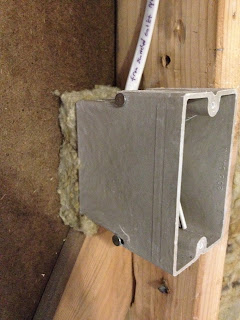 Our ikea kitchen framing inspection plumbing inspection for Roxul insulation vs fiberglass insulation